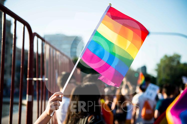 Protest Madrid Pride 2016. July 02. 2016. (ALTERPHOTOS/Borja B.Hojas)