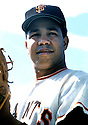 San Francisco Giants Juan Marichal(27) portrait from his 1961 season. Juan Marichal played for 16 years, with 3 different teams and was inducted to the Baseball Hall of Fame in 1983.David Durochik/SportPics