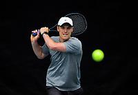 Finn Tearney. 2019 Wellington Tennis Open at Renouf Centre in Wellington, New Zealand on Saturday, 21 December 2019. Photo: Dave Lintott / lintottphoto.co.nz