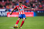 Angel Correa of Atletico de Madrid in action during the La Liga 2017-18 match between Atletico de Madrid and Getafe CF at Wanda Metropolitano on January 06 2018 in Madrid, Spain. Photo by Diego Gonzalez / Power Sport Images