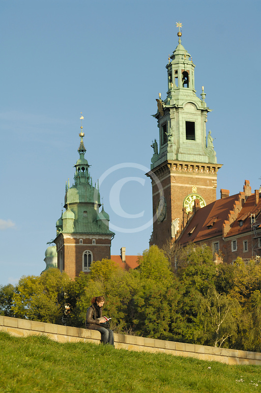 Poland, Krakow, Wawel, Cathedral and Royal Castle