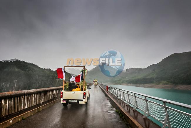 04/07/2021 – Tour de France 2021 – Etape 9 – Cluses / Tignes (144,9 km) - Caravane