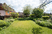 BNPS.co.uk (01202) 558833.<br /> Pic: CarterJonas/BNPS<br /> <br /> Pictured: Rear garden. <br /> <br /> The former family home of Lord of the Flies author William Golding has gone on sale for £1m.<br /> <br /> The Grade II Listed cottage on a green in Marlborough is said to have inspired some of the Nobel Prize winning writer's work.<br /> <br /> His parents Alec, a teacher, and Mildred, a suffragette, bought the house and moved there in 1905, when Mr Golding obtained a job at the town's grammar school.<br /> <br /> Sir William was born in 1911 and he and his brother lived in the property and its location influenced his writing. He wrote of the property: 'Our house was on the green, that close like square, tilted south'.