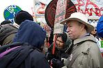 Dr. James Hansen, Capitol Coal Action in Washington, D.C. - ©Robert vanWaarden ALL RIGHTS RESERVED