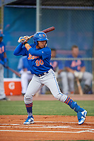 New York Mets Guillermo Granadillo (90) during a Minor League Spring Training intrasquad game on March 29, 2018 at the First Data Field Complex in St. Lucie, Florida.  (Mike Janes/Four Seam Images)