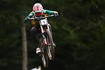 UCI 2021 Mountain Bike Cross Country World  Championships   in Commezzadura on August 29, 2021. Downhill fnal, Greg Minnaar (RSA) in action