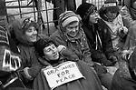 Grannies for Peace, Greenham Common Peace Camp  1985.