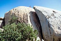 Ayo Rock formation, Aruba, Netherlands Antilles (Dutch Caribbean or Dutch ABC Islands), Atlantic