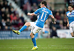 Hearts v St Johnstone…05.11.16  Tynecastle   SPFL<br />Danny Swanson scores for saints<br />Picture by Graeme Hart.<br />Copyright Perthshire Picture Agency<br />Tel: 01738 623350  Mobile: 07990 594431