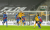 8th January 2021; Molineux Stadium, Wolverhampton, West Midlands, England; English FA Cup Football, Wolverhampton Wanderers versus Crystal Palace; Joao Moutinho of Wolverhampton Wanderers kicks the ball forward to clear the Wolverhampton goal