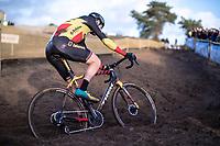 Belgian National Champion and later race winner Toon Aerts (BEL/Telenet Baloise Lions) <br /> <br /> CX Superprestige Zonhoven (BEL) 2019<br /> Elite & U23 mens race
