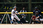 #77 Watanabe Nana of Japan bats during the BFA Women's Baseball Asian Cup match between Japan and Hong Kong at Sai Tso Wan Recreation Ground on September 5, 2017 in Hong Kong. Photo by Marcio Rodrigo Machado / Power Sport Images