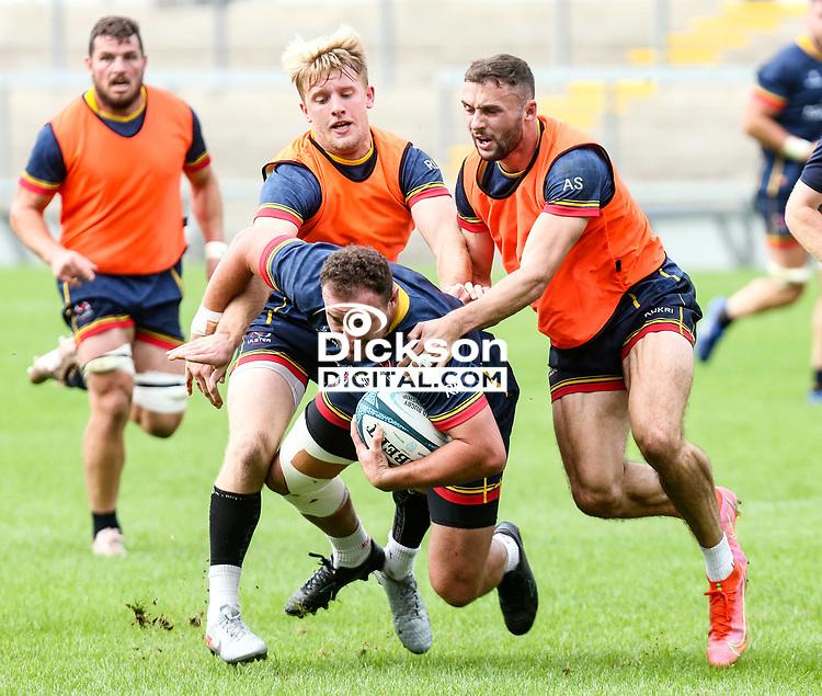 Tuesday 28th September 2021<br /> <br /> Rob Herring during Ulster Rugby training at Kingspan Stadium, Ravenhill Park, Belfast, Northern Ireland. Photo by John Dickson/Dicksondigital