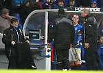 David Templeton subbed by Ally McCoist