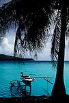 Outrigger, Bora Bora Island, Tahiti