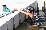September 13, 2014:  Scenes from the WWA Wakeboard World Championships at Mills Pond Park in Fort Lauderdale, FL.  Women's  Professional Wakeboarder, Amber Wing AUS takes 2nd place.  Liz Lamont/ESW/CSM