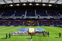 Harrison, NJ - Sunday March 04, 2018: United States, France Starting Eleven during a 2018 SheBelieves Cup match match between the women's national teams of the United States (USA) and France (FRA) at Red Bull Arena.