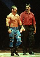 Chris  Benoit  Shane McMahon 1997                                                        Photo By John Barrett/PHOTOlink