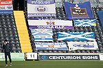 Kilmarnock v St Johnstone…30.01.21   Rugby Park   SPFL<br />Callum Hendry pictured on the Rugby Park pitch ahead of kick off<br />Picture by Graeme Hart.<br />Copyright Perthshire Picture Agency<br />Tel: 01738 623350  Mobile: 07990 594431