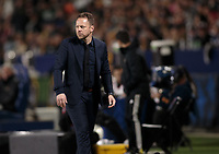 CARSON, CA - MARCH 07: Marc Dos Santos head coach of the Vancouver Whitecaps during a game between Vancouver Whitecaps and Los Angeles Galaxy at Dignity Health Sports Park on March 07, 2020 in Carson, California.