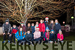 Glenbeigh National School pupils who attended the switching on of their Tree of Light on Sunday which was accompanied by Carol Singing and a blessing from Fr. Kieran O'Sullivan