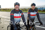 Chain Gang Cycle Club members cycling for their Kerry Hospice fundraiser on Saturday, l to r: Seamus O'Mahoney and Ger O'Connell