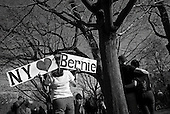 Brooklyn, New York<br /> Park Slope, Prospect Park<br /> April 17, 2016<br /> <br /> Democratic presidential candidate Bernie Sanders speaks in Prospect Park.