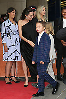 ANGELINA JOLIE AND HER SON KNOX - RED CARPET OF THE FILM 'FIRST THEY KILLED MY FATHER' - 42ND TORONTO INTERNATIONAL FILM FESTIVAL 2017