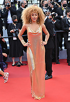 CANNES, FRANCE. July 15, 2021: Leila Depina at the France premiere at the 74th Festival de Cannes.<br /> Picture: Paul Smith / Featureflash