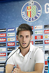 Getafe's new player Alvaro Medran during his official presentation. July 6, 2015. (ALTERPHOTOS/Acero)