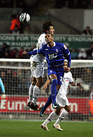 Pictured: Federico Bessone of Swansea City in action <br /> Re: Coca Cola Championship, Swansea City Football Club v Birmingham City at the Liberty Stadium, Swansea, south Wales Friday 21 November 2008.<br /> Picture by D Legakis Photography (Athena Picture Agency), Swansea, 07815441513