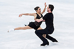 Marissa Castelli and Simon Shnapir of USA compete in the Figure Skating Pairs Short Program during the 2014 Sochi Olympic Winter Games at Iceberg Skating Palace on February 6, 2014 in Sochi, Russia. Photo by Victor Fraile / Power Sport Images