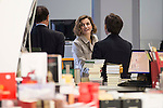 Queen Letizia attends the first roundtable seminar Spanish Cooperation 2030. Spain and the new agenda for sustainable development at National Library of Spain in Madrid, November 03, 2015<br /> (ALTERPHOTOS/BorjaB.Hojas)