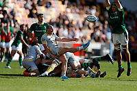 5th June 2021; Brentford Community Stadium, London, England; Gallagher Premiership Rugby, London Irish versus Wasps; Dan Robson of Wasps kicks the ball forward