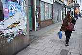 Closed shops, West Hendon, London.