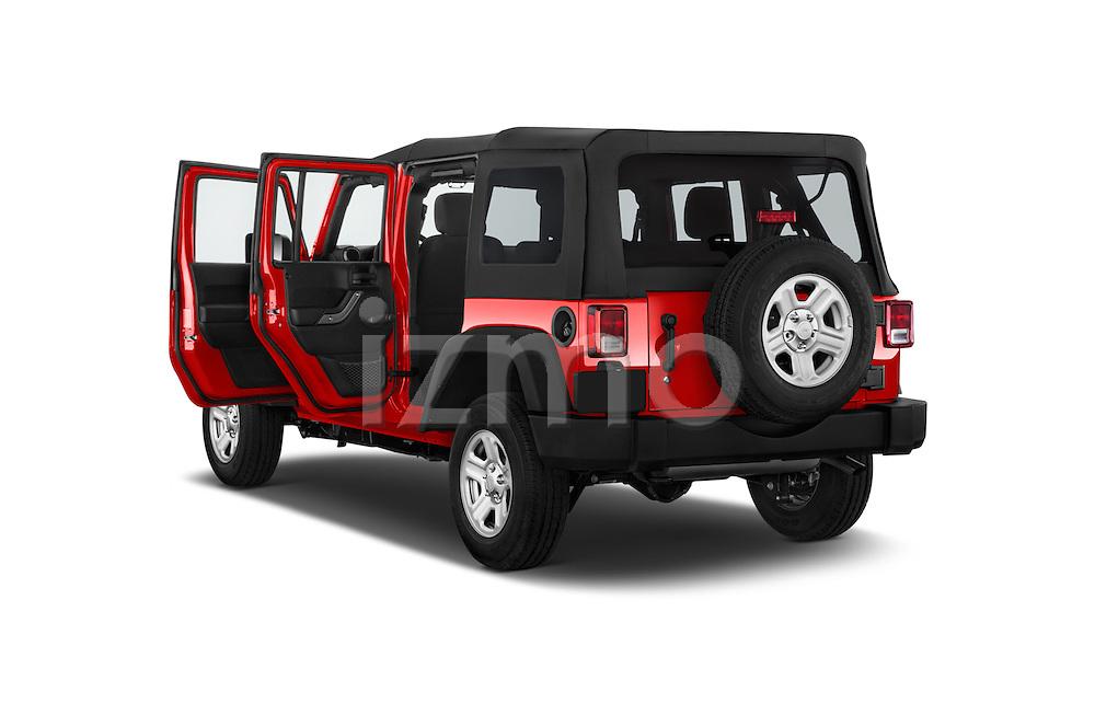 Car images of a 2015 JEEP Wrangler Unlimited Sport 5 Door Sport Utility Vehicle Doors