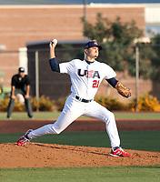 Tyler Johnson - USA Baseball Premier 12 Team - October 25- 28, 2019 (Bill Mitchell)