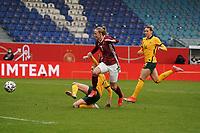 Lea Schüller (Deutschland, Germany) zieht ab - 10.04.2021 Wiesbaden: Deutschland vs. Australien, BRITA Arena, Frauen, Freundschaftsspiel