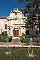 Colegio de Santa Cruz college Valladolid spain castile and leon