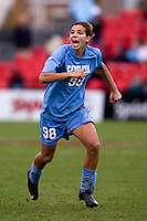 Tobin Heath. UNC defeated Maryland, 1-0, during the regular season finale at College Park, Maryland.