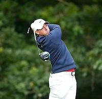 2nd July 2021; Mount Juliet Golf Club, Kilkenny, Ireland; Dubai Duty Free Irish Open Golf, Day Two; Rory Mcilroy of Northern Ireland tees off on the 12th hole