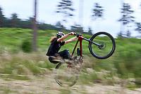 Thomas Potz-Rayner , riding a Vitus ESCARPE 29 CRS MOUNTAIN BIKE Swinley Forest , Bracknell , Berks . June 2021