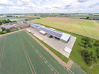 Vegetable pack house and cols storage with solar pnales - Lincolnshire, July