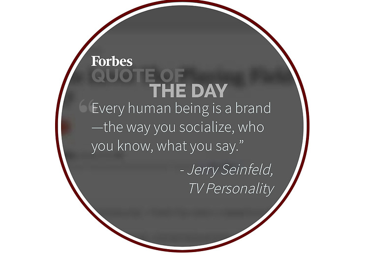 Forbes Magazine Quote of the Day