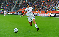 Alex Morgan of team USA during the FIFA Women's World Cup at the FIFA Stadium in Moenchengladbach, Germany on July 13th, 2011.