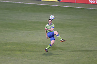 COLUMBUS, OH - DECEMBER 12: Gustav Svensson #4 of the Seattle Sounders FC plays the ball during a game between Seattle Sounders FC and Columbus Crew at MAPFRE Stadium on December 12, 2020 in Columbus, Ohio.