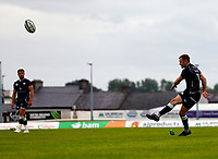 4th June 2021; Galway Sportsgrounds, Galway, Connacht, Ireland; Rainbow Cup Rugby, Connacht versus Ospreys; Stephen Myler scores a conversion for Ospreys with the last kick of the first half