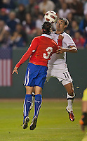 CARSON, CA – JANUARY 22: USA forward Chris Wondolowski (11) during the international friendly match between USA and Chile at the Home Depot Center, January 22, 2011 in Carson, California. Final score USA 1, Chile 1.