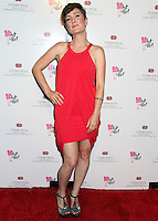 BEVERLY HILLS, CA, USA - MAY 31: Sara Gazarek at the 10th Anniversary What A Pair! Benefit Concert to support breast cancer research and education programs at the Cedars-Sinai Samuel Oschin Comprehensive Cancer Institute at the Saban Theatre on May 31, 2014 in Beverly Hills, California, United States. (Photo by Celebrity Monitor)