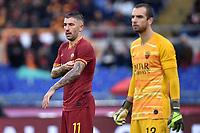 Aleksandar Kolarov of AS Roma , Pau Lopez of AS Roma <br /> Roma 24-11-2019 Stadio Olimpico <br /> Football Serie A 2019/2020 <br /> AS Roma - Brescia Calcio<br /> Foto Andrea Staccioli / Insidefoto